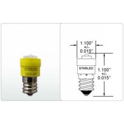 CANDELABRA SCREW BASE 144 W/ SUPER FLUX LED