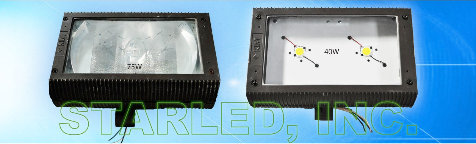 LANDSCAPE FLOOD LAMPS